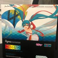 PVC Figure New No Box Anime Figma SP-078 Hatsune Miku Racing Miku 2016 Ver