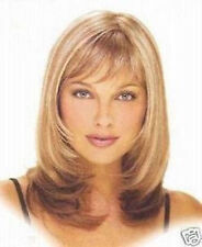 Fashion Short Mix blonde Curly lady's Synthetic Hair Cosplay Wigs/wig+cap