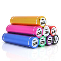 2600mAh Portable External USB Power Bank Box Battery CN Charger For Mobile Phone