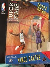 NEW Mattel NBA Superstars - VINCE CARTER College & Pro Figures UNC / Raptors SLU