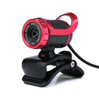 Laptop PC Webcam with Microphone Camera Web Cam Clip-on 360° USB Plug and Play