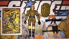 Dusty 2002 Hasbro GI Joe Action Figure, Card, Case & Complete Accessories Lot A
