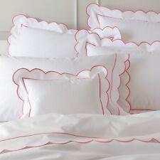 Matouk Butterfield Queen Sheet in Azalea 500 TC Egyptian Cotton Retail $248