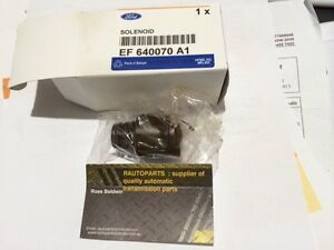 GENUINE FORD TERRITORY AUTOMATIC TRANSMISSION SHIFT SOLENOID BTR 4 SPEED NEW
