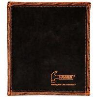 Hammer Bowling Shammy BLACK/ORANGE Leather Oil Removing Pad