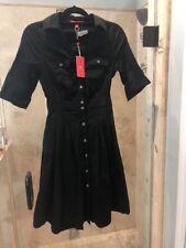 New Nwt XS 2 Ivanka Trump Fit & Flare Black Dress Classic Audrey Hepburn