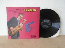 JIMMY SKIDMORE - SKID MARKS UK VINYL LP 1972 EX+ SIGNED by SKID' BRITISH JAZZ