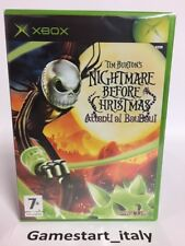 NIGHTMARE BEFORE CHRISTMAS - XBOX - VIDEOGIOCO NUOVO NEW PAL VERSION TIM BURTON