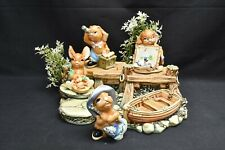 Pendelfin Figurines The Jetty Whopper Jim-Lad Nipper Angelo - 5 Pieces