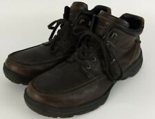 Ecco Track 5 Leather Boots Brown Size 44 10-10.5 GoreTex Waterproof Latex Sole