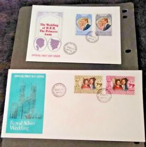 British Solomon Islands 1972/73 Royal Silver Wedding and Wedding First Day Cover