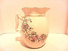 Vintage Maddock & Co. Burslem England Royal Stone China Pitcher *