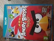 wii U ANGRY BIRDS TRILOGY 3 In 1 Puzzle Game PAL pal fr version