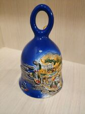 Rare Set Lot Porcelain Pottery Cities of Russia geographical 8 Bells #1