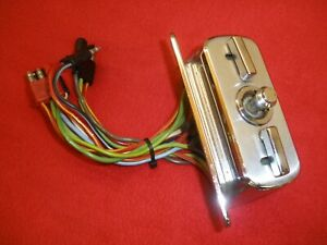 1966 Ford, Thunderbird 6-way power seat control switch RESTORATION SERVICE ONLY.