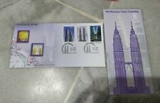 Malaysia 1999 KLCC FDC Petronas Twin Towers 3v Stamp FDC