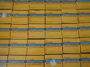 Kodak Ektachrome 160 Type A Sound Color Movie Film Super 8 ELA594 Price Per Box