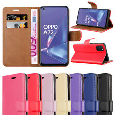 For Oppo A72 Case Leather Wallet Book Flip Stand Cover for Oppo A72 Phone Phone
