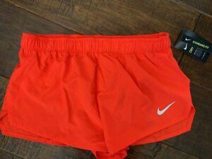 """Nike AeroSwift 2"""" Crimson Training  Running Shorts Men Medium CJ7837-673 New NWT"""