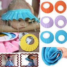 Adjustable Kids Shampoo Shower Bath Bathing Soft Cap Hat Wash Hair Shield