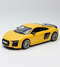 Kyosho 5011518415 Audi R8 V10 Plus Coupe Sportwagen in gelb, 1:18, OVP, B318