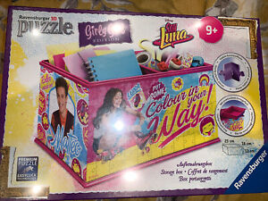 Ravensburger 3D Puzzle Disney Soy Luna Girly Girl Edition Storage Box 216 Pieces