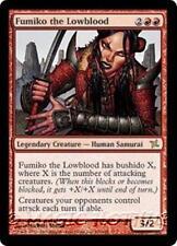 FUMIKO THE LOWBLOOD Betrayers of Kamigawa MTG Red Creature — Human Samurai RARE