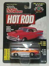 Racing Champions Hot Rod Magazine '63 Corvette Split Window Orange 1:53 1/53