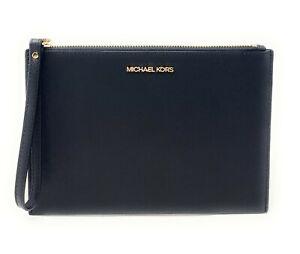 Michael Kors Jet Set Travel XLarge Zip Clutch Wristlet Wallet
