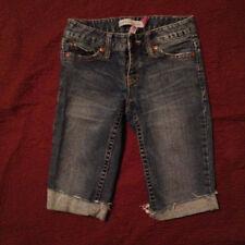 Aeropostale Aero Denim Blue Jean Bermuda Shorts Size 0