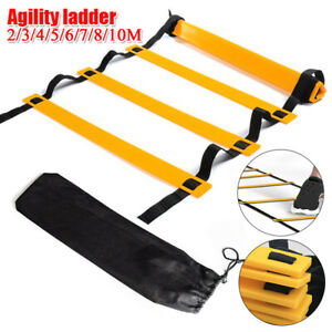 Agility Speed Training Ladder 20 Rung Footwork Fitness Football Workout Exercise