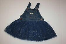 New OshKosh Girls Dress Navy Sparkle Glitter Tulle Skirt...