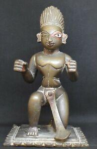 Garuda, Vishnus vahana, solid cast 5.5 inches