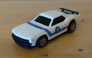 Hot Wheels Sizzlers Boss Ford Mustang 2006 white
