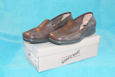 AEROSOLES WHAT'S WHAT BROWN MINI MONG WHIP STITCHED FLAT - 8.5 - WORN ONCE