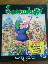 Boxed Amiga Game - Lemmings by Psygnosis