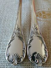 MARLY CHRISTOFLE SILVERPLATE FISH SERVING SET 2 PIECES ( KNIFE & FORK )