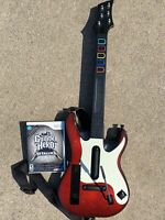GUITAR HERO Red White  Controller Nintendo Wii  95911.805 + GH Metallica
