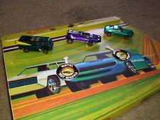 Vintage hot wheels redlines lot 24 car case amx beach bomb buttons