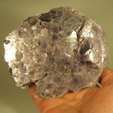 "5.2"" LEPIDOLITE Lithium Mica Crystal Cluster - Minas Gerais, Brazil - 1.6 lbs."