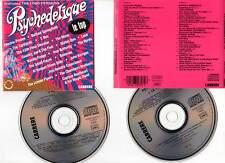 """PSYCHEDELIQUE """"Le Top"""" (2 CD) 1991 - Hendrix,Donovan,Yardbirds,Procol Harum..."""