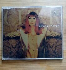 Strong Enough [US] [Single] by Cher (CD, May-1999, Warner Bros.)