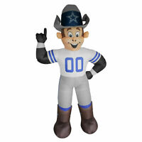 NEW NFL Football Dallas Cowboys 7' 7ft Inflatable Mascot for Yard LED Fancave