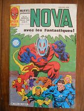 Semic MARVEL DC Comics FRANCE Spiderman BD LUG Super Heros NOVA n°59 Dec 1982