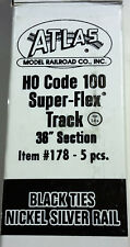 Atlas HO Code 100 Super Flex Track Item #178 (5) Pieces