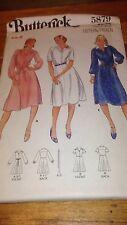 Butterick 5879 Misses Dress Pattern Size 8 #469