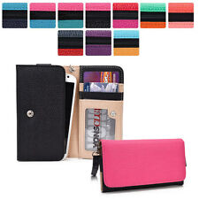 Protective Wallet Case Clutch Cover & Organizer for Smart-Phones KroO Esmt28