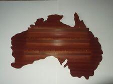 36pc Australia Wooden Thimble Display Rack ( Mahogany )( huge range - see list )