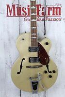 Gretsch G2420T Streamliner Hollow Body Electric Guitar w Bigsby Golddust Finish