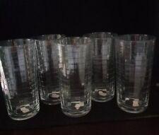 Set of 5 Pasabahce 8 oz. Drinking Glasses